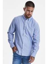 BLEND Slim Fit Plain Oxford LS Shirt