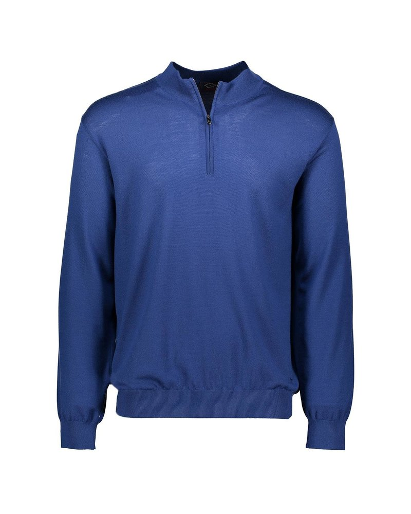 PAUL & SHARK Summer Wool 1/4 Zip Sweater