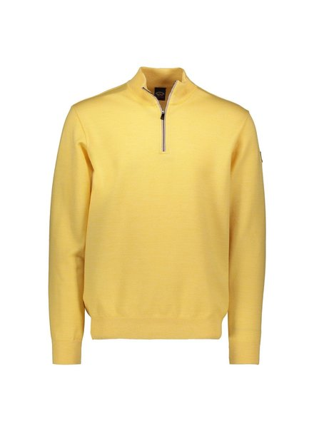 PAUL & SHARK Yellow 1/4 Zip Sweater