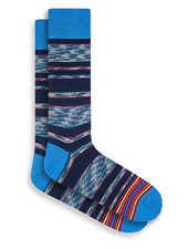 BUGATCHI UOMO Multi Colour Stripe Sock