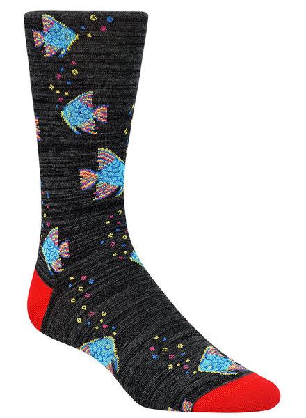 BUGATCHI UOMO Solid Fish Socks