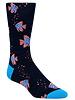 BUGATCHI UOMO Solid Fish Sock