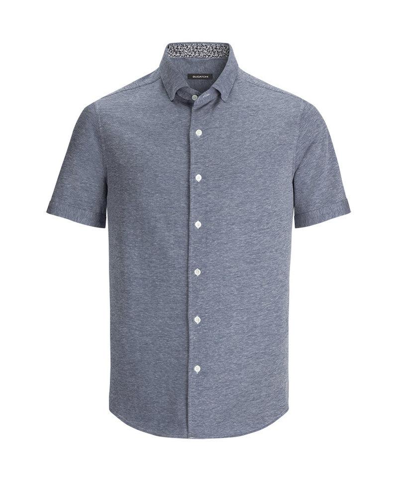 BUGATCHI UOMO Shaped Fit Knit Shirt