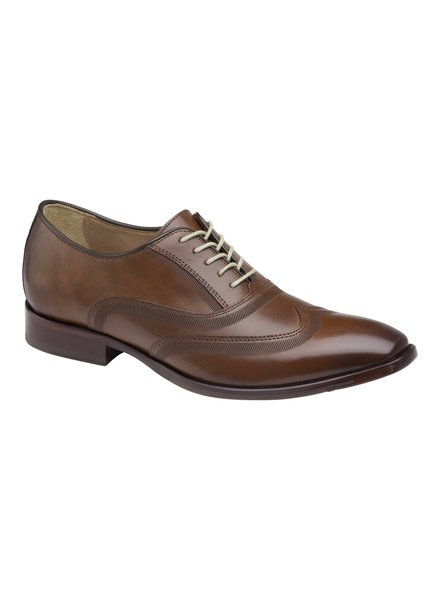 JOHNSTON & MURPHY Mcclain Wingtip Leather Shoe