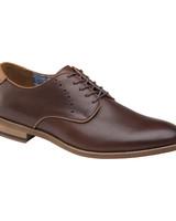 JOHNSTON & MURPHY Milliken Plain Toe Leather Shoe
