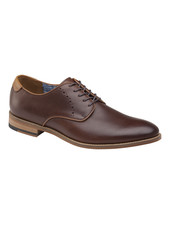 JOHNSTON & MURPHY Milliken Plain Toe Leather Shoe