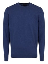 BRUUN & STENGADE Crewneck Cotton Sweater