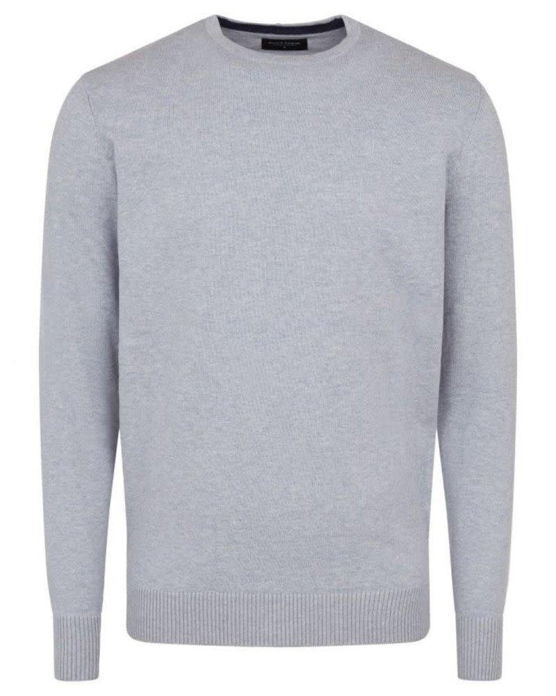 BRUUN & STENGADE Crewneck Cotton Sweater