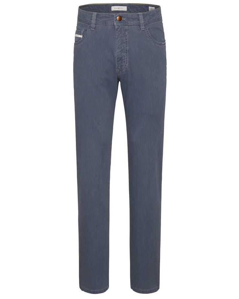 BUGATTI Modern Fit Blue 5 Pocket Pant