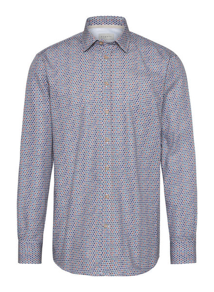 BUGATTI Modern Fit Multi Colour Dots Shirt