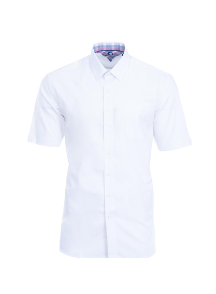 MARCO Classic Fit White Broadcloth Shirt