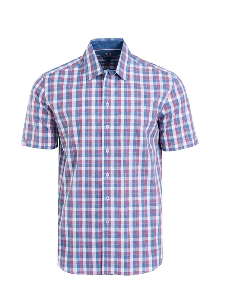 MARCO Classic Fit Blue Rose Check