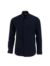 MARCO Modern Fit Plain Blended Shirt