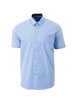 MARCO Classic Fit Light Blue Neat Shirt