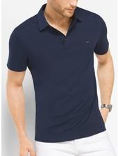 MICHAEL KORS Sleek Liquid Cotton  Polo