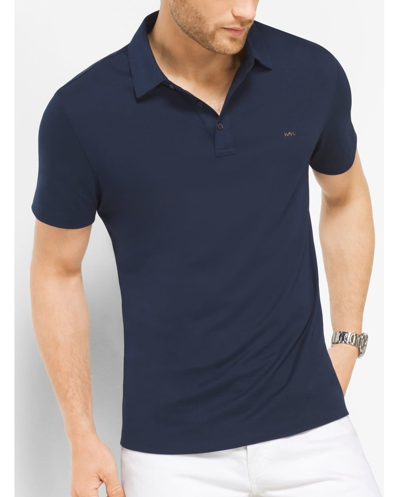 MICHAEL KORS Sleek Liquid Cotton  Polo