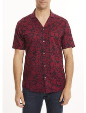 MICHAEL KORS Slim Fit Print Lawn Shirt