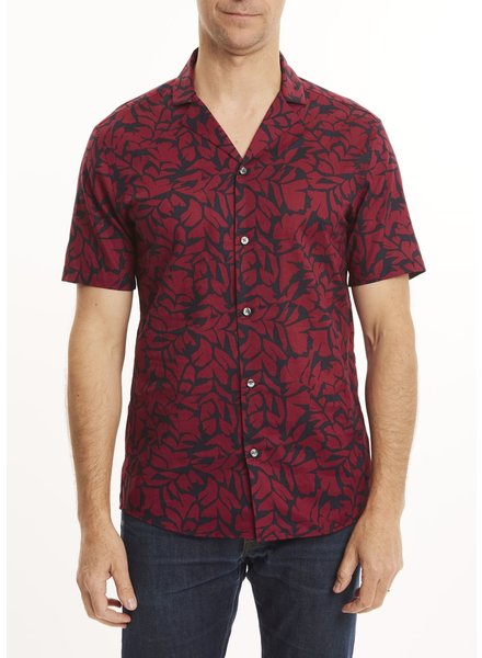 MICHAEL KORS Slim Fit Print Lawn Shirt