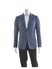 SUITOR Slim Fit Blue Stretch Sport Coat