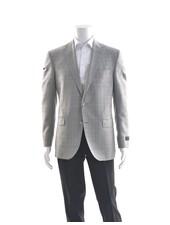 JACK VICTOR Modern Fit Light Grey Sport Coat
