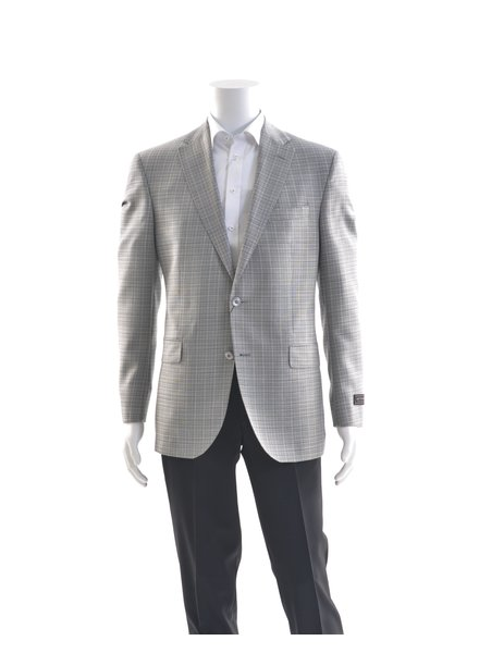 JACK VICTOR Modern Fit Light Grey Sport Coat