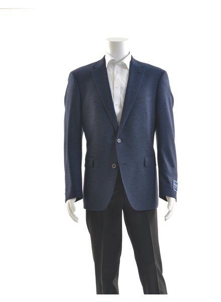 S COHEN Modern Fit Mid Blue Donegal Sport Coat