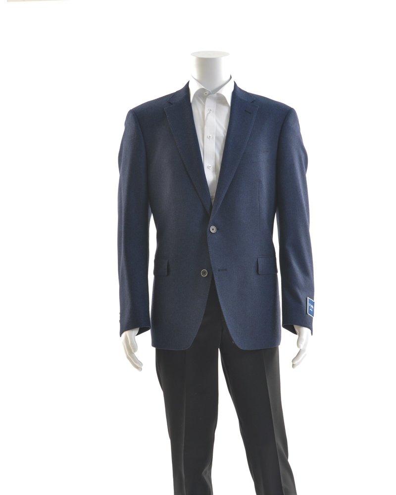 S COHEN Modern Fit Mid Blue Donegal Sport Coat