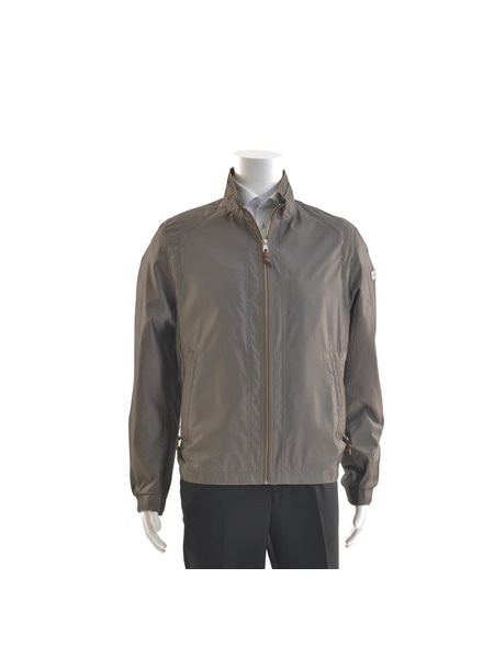 BUGATTI Dark Taupe Nylon Casual Coat