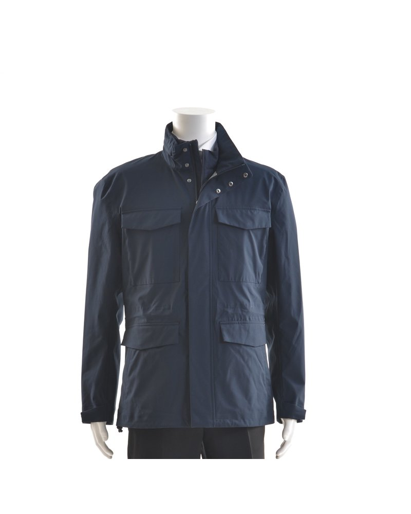 SAVE THE DUCK Blue Black 3 in 1 Casual Coat
