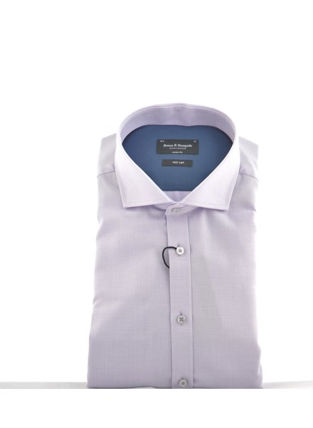 BRUUN & STENGADE Modern Fit Mauve Shirt