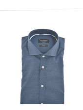 BRUUN & STENGADE Modern Fit Denim Blue Shirt