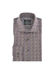 SUITOR Slim Fit Multi Colored Floral Shirt
