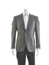 COPPLEY Modern Fit Grey Birdseye 1/4 Lined Sport Coat