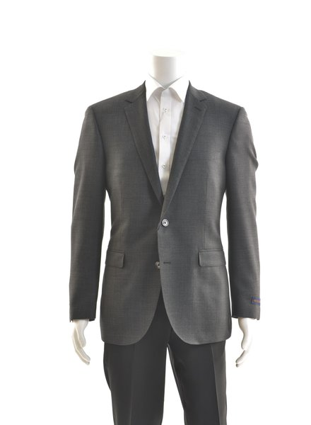 PAUL BETENLY Charcoal Textured Sport Coat
