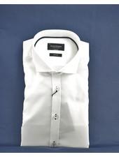 BRUUN & STENGADE Modern Fit White Oxford Shirt