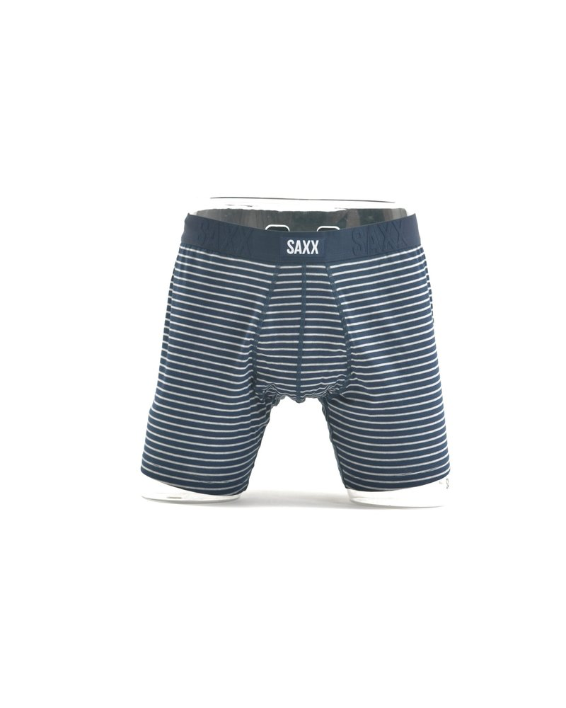 SAXX Undercover Navy Stripe Boxer Brief No Fly