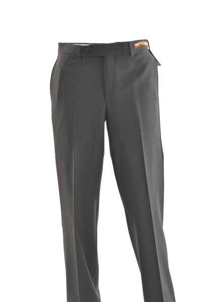 RIVIERA Classic Fit Charcoal Washable Dress Pant