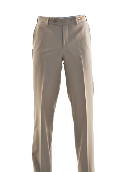 RIVIERA Classic Fit Tan Washable Dress Pant