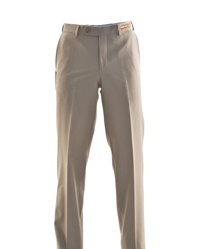 RIVIERA Classic Fit Tan Washable Dress Pant
