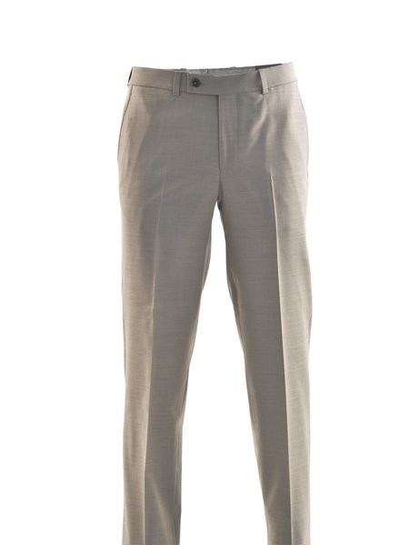 RIVIERA Modern Fit Taupe Washable Pant