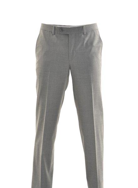 RIVIERA Modern Fit Mid Grey Washable Dress Pant