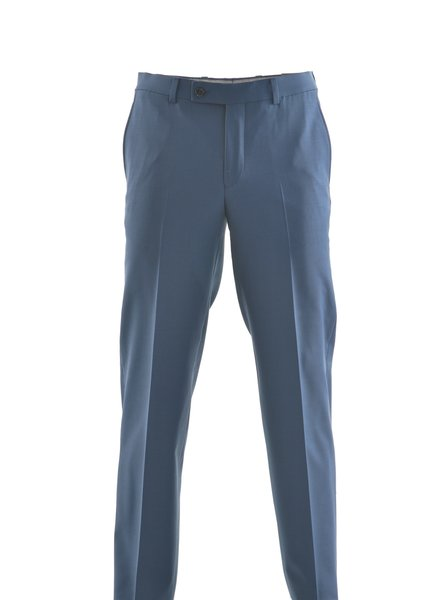 RIVIERA Modern Fit Bright Blue Washable Dress Pant