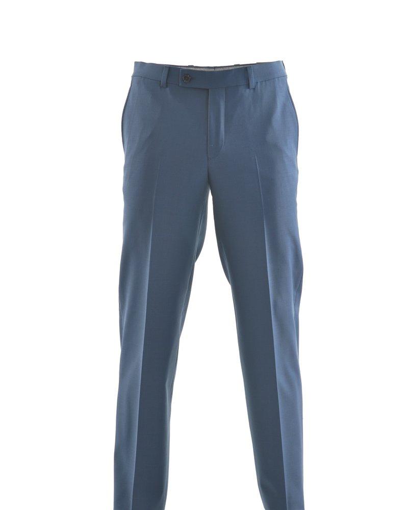 RIVIERA Modern Fit Bright Blue Washable Dress Pant