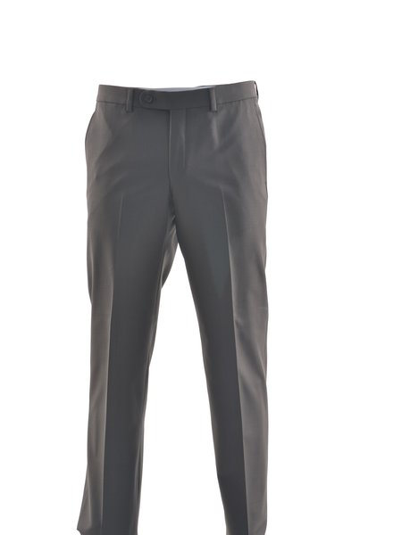 RIVIERA Modern Fit Brown Washable Dress Pant