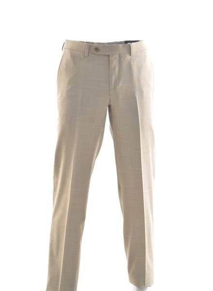 RIVIERA Modern Fit Tan Washable Dress Pant