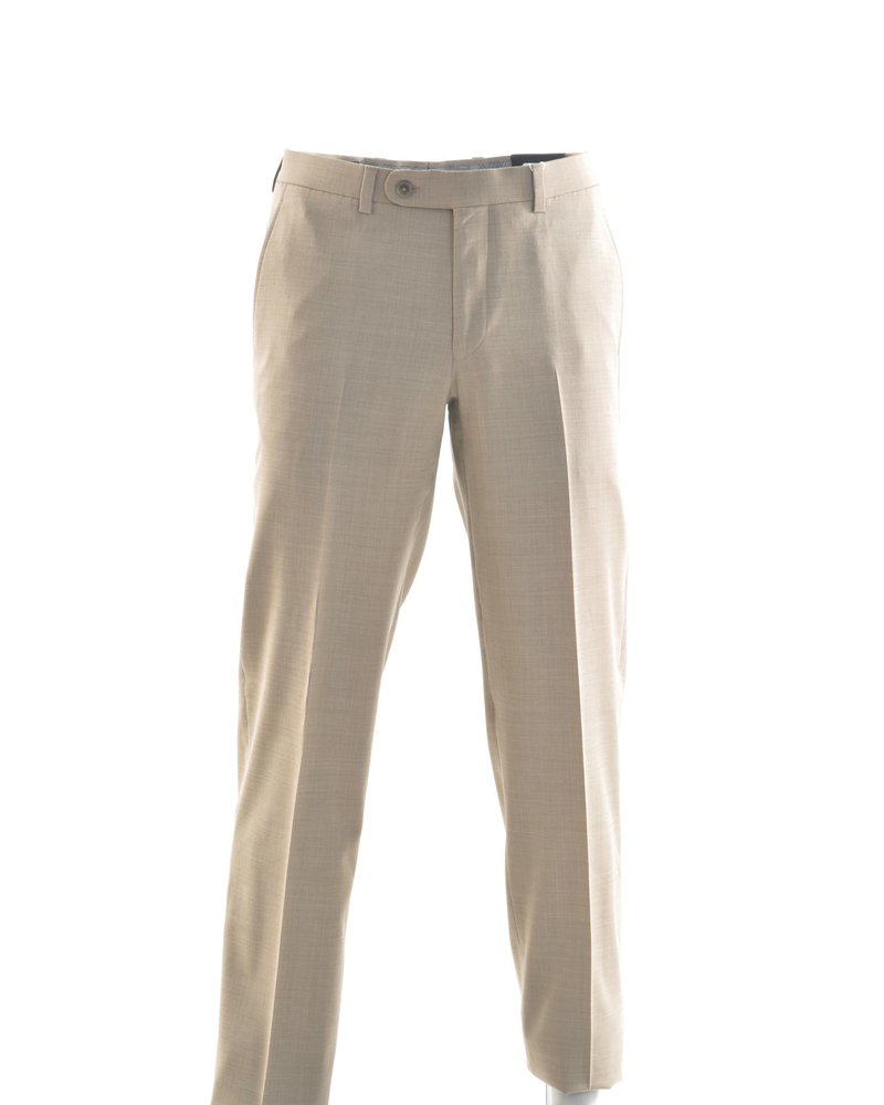 RIVIERA Modern Fit Tan Washable Dress Pant
