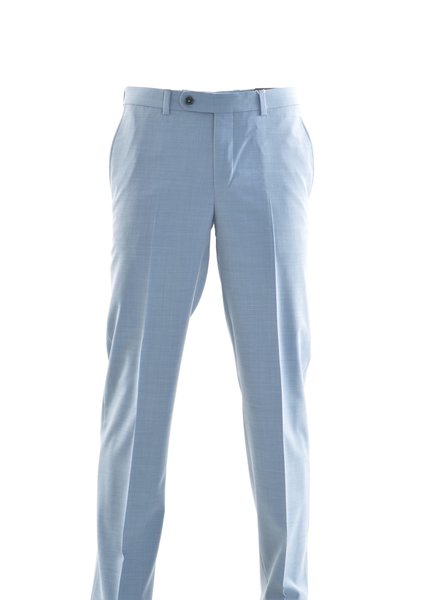 RIVIERA Modern Fit Light Blue Washable Dress Pant