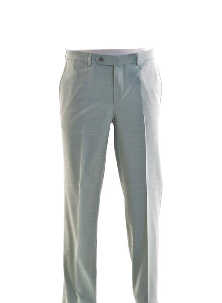 RIVIERA Modern Fit  Turquoise Washable Dress Pant