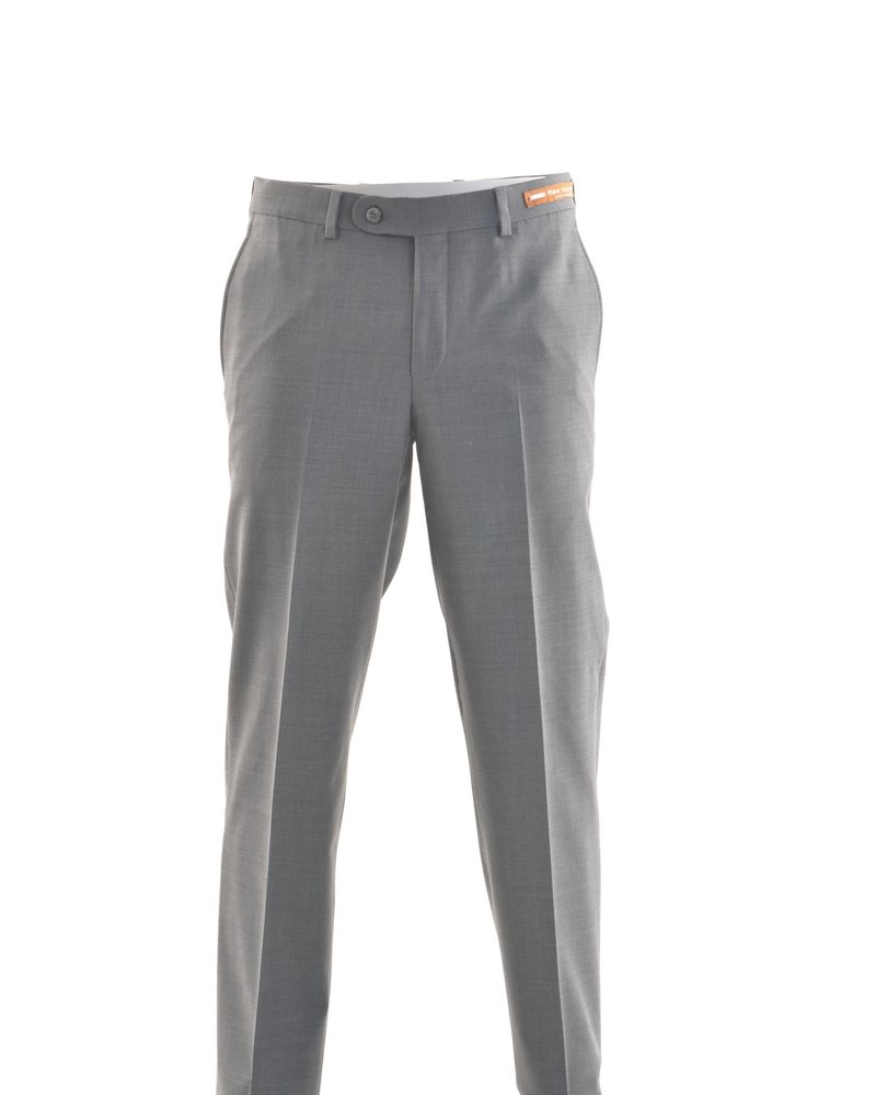 RIVIERA Classic Fit Mid Grey Washable Dress Pant
