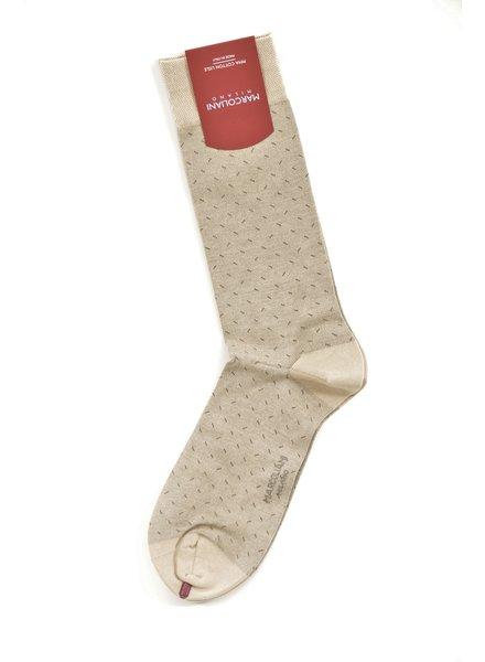 MARCOLIANI Pima Cotton Lisle Micro Slash Socks